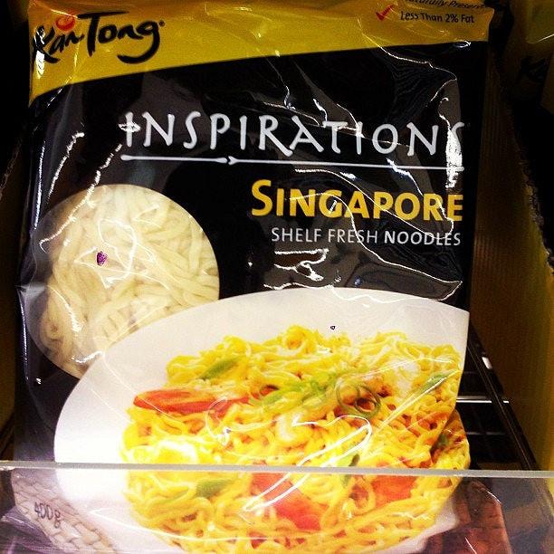 シンガポールインスタントヌードル