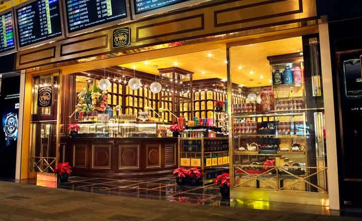 『TWG Tea at Changi T2 』チャンギ空港T2店