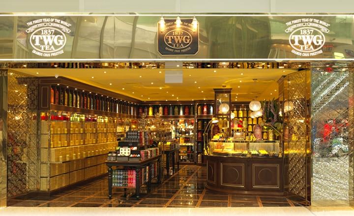 『TWG Tea at Changi T3』チャンギ空港T3店