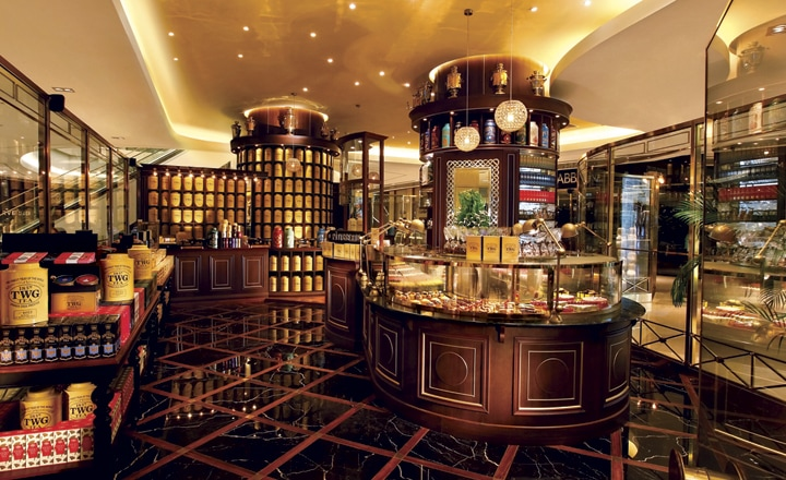 『TWG Tea at ION Orchard』 アット・アイオン・オーチャード店
