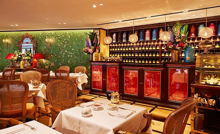 『TWG Tea on the Bay at Marina Bay Sands』オンザ・ベイ・アット・マリナーベイサンズ 店