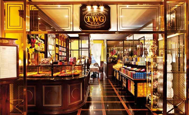 『TWG Tea at Takashimaya L2』髙島屋L2店