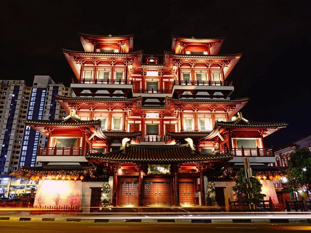 新加坡佛牙寺龍華院 Buddha Tooth Temple and Museum