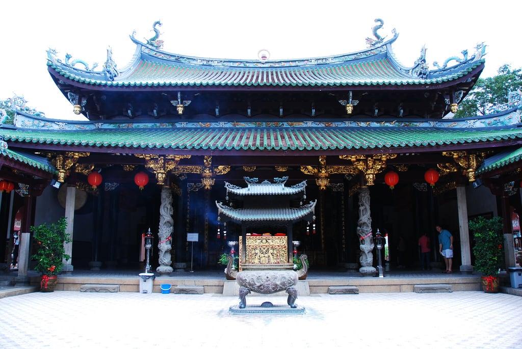 ティアン・ホッケン寺院 Thian Hock Keng Temple