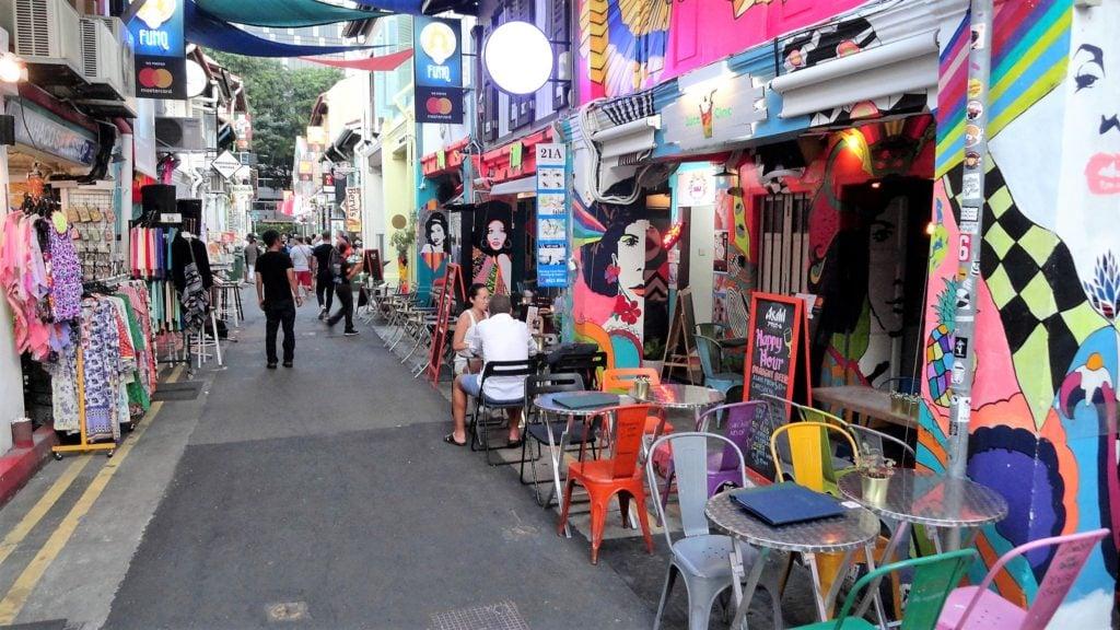 ハジ・レーン Haji Lane