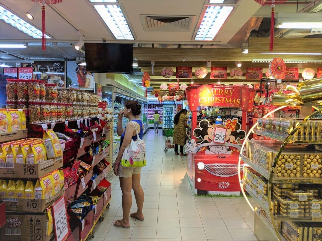 シンガポール・スーパーマーケット