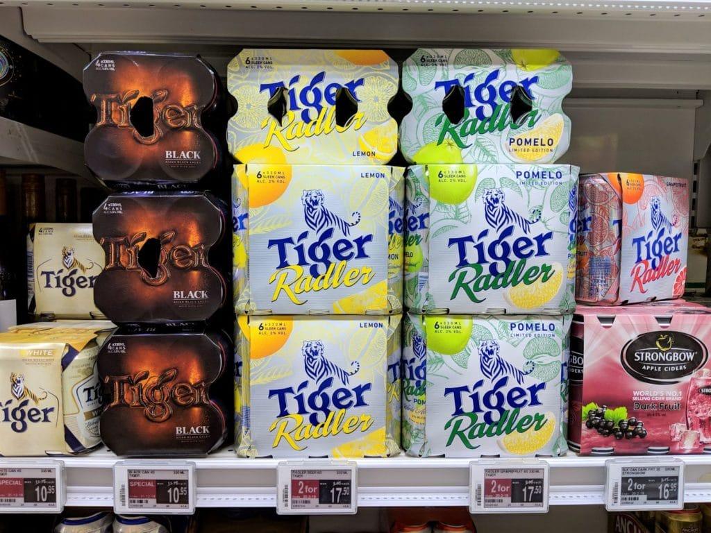 タイガーフレーバービール(缶)