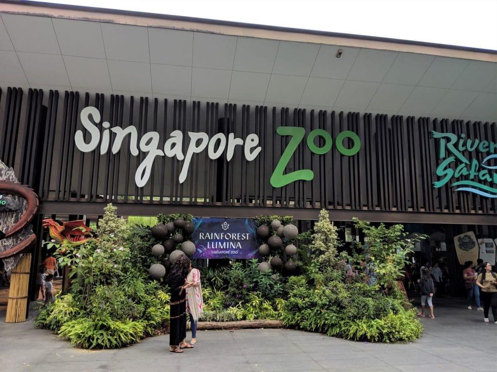 シンガポールズー・エントランス