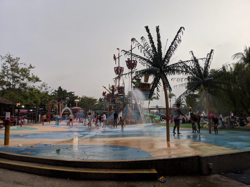 子連れシンガポールパラワンビーチ