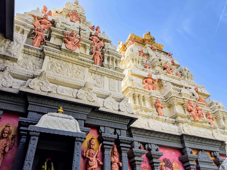 スリ・センパガ・ヴィナヤガー寺院内部