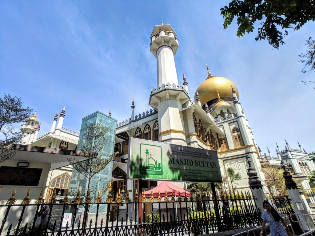 サルタン・モスク Masjid Sultan