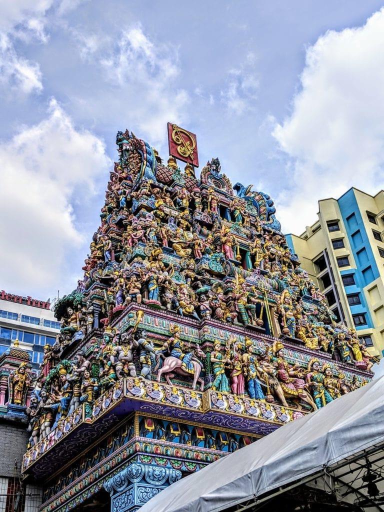 スリ・ヴィラマカリアマン寺院 Sri veeramakaliamman Temple