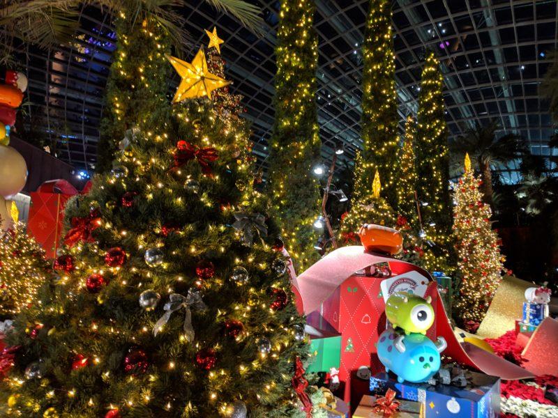 フラワードーム・クリスマスツリー